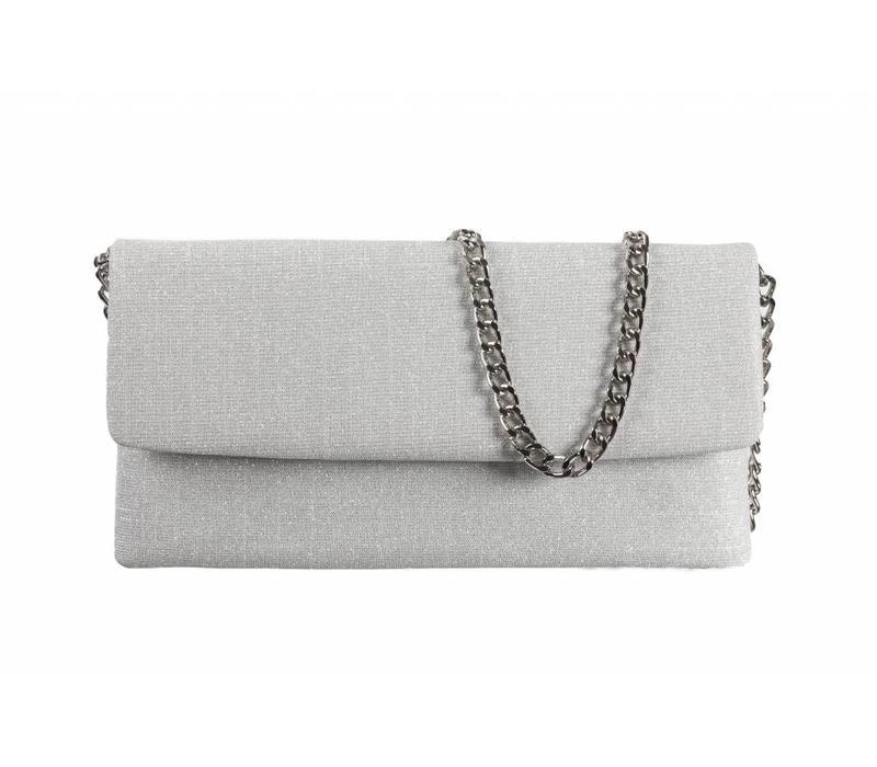 Le Babe Bag Galassia Silver Flapover