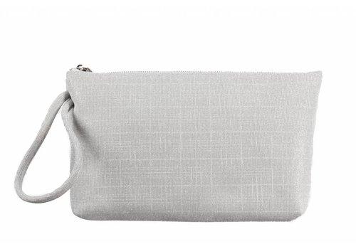Le Babe Le Babe Bag Galassia Silver Zip top