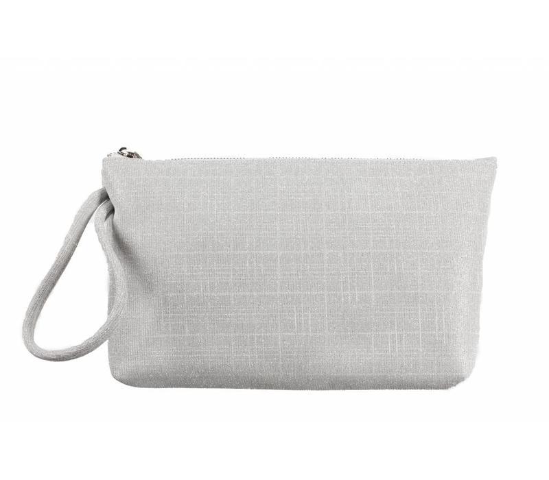 Le Babe Bag Galassia Silver Zip top