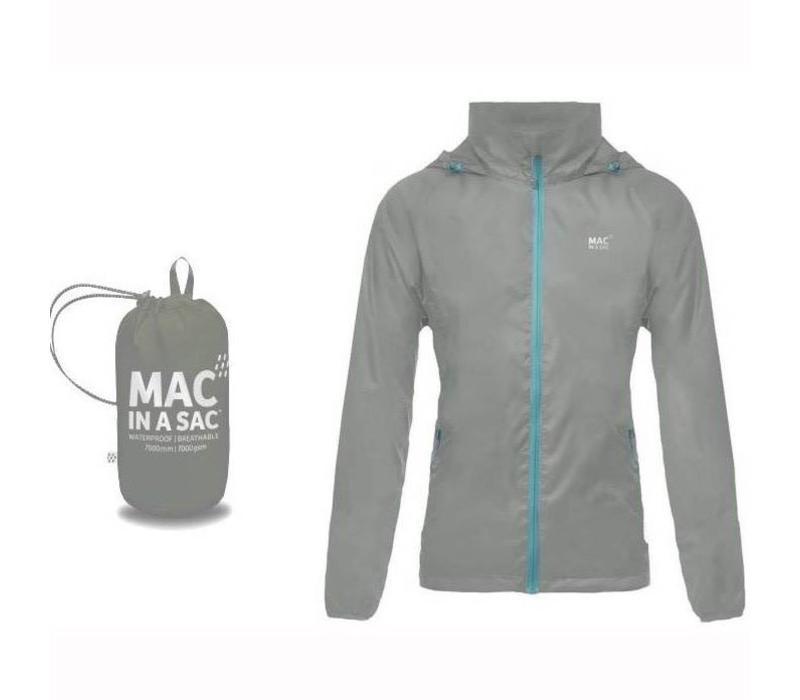 Mac in a Sac waterproof Grey  Jacket