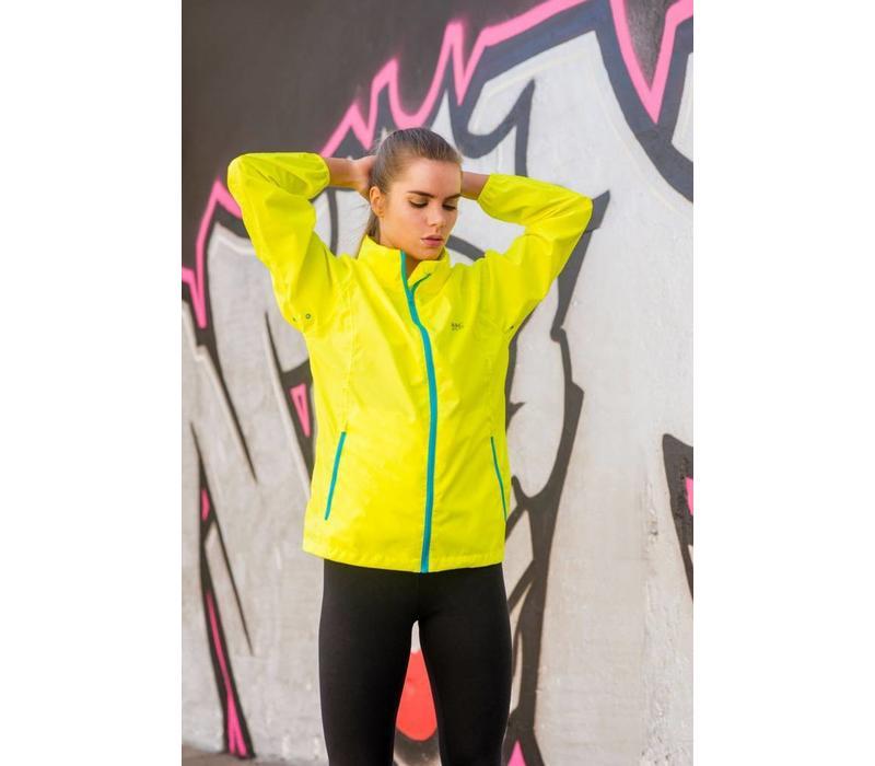 Mac in a Sac waterproof  Yellow jacket