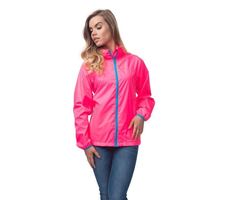 Mac in a Sac Waterproof  Pink Jacket