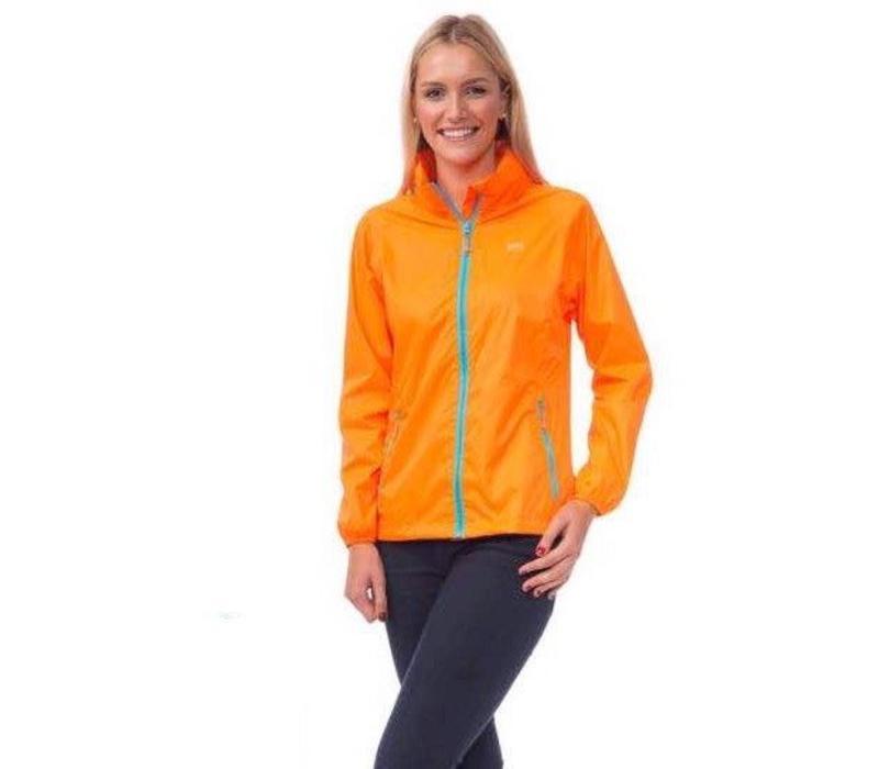 Mac in a Sac waterproof Orange Jacket