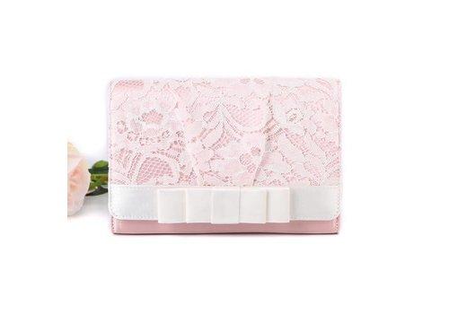 Peach Accessories F2242 Baby Pink Clutch