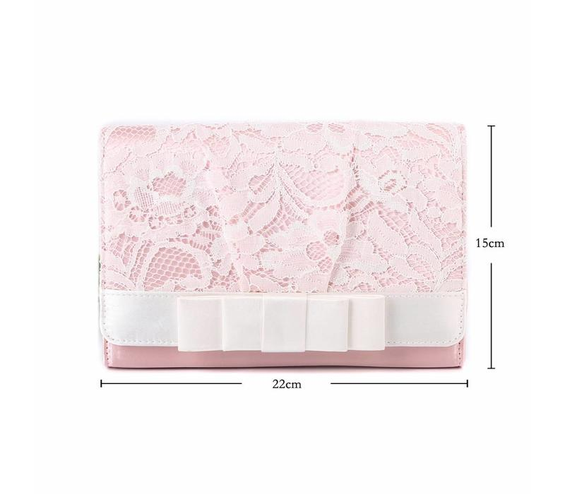 F2242 Baby Pink Clutch
