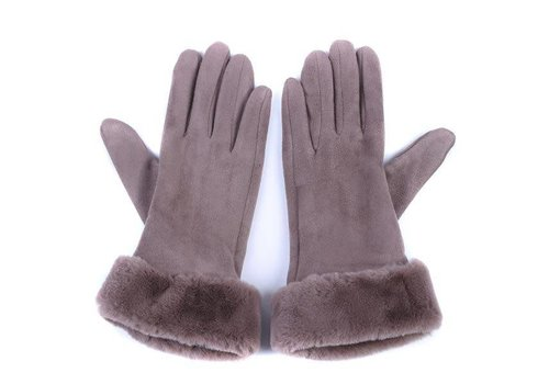 Peach Accessories HA31 Taupe Gloves