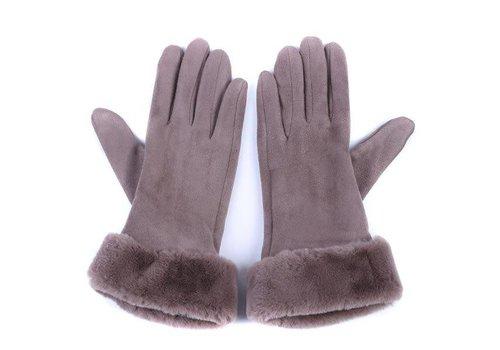 Peach Accessories HA31 Taupe Gloves