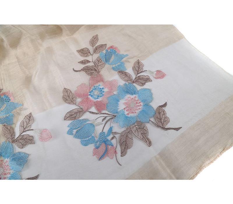 JS05-4 Floral Beige