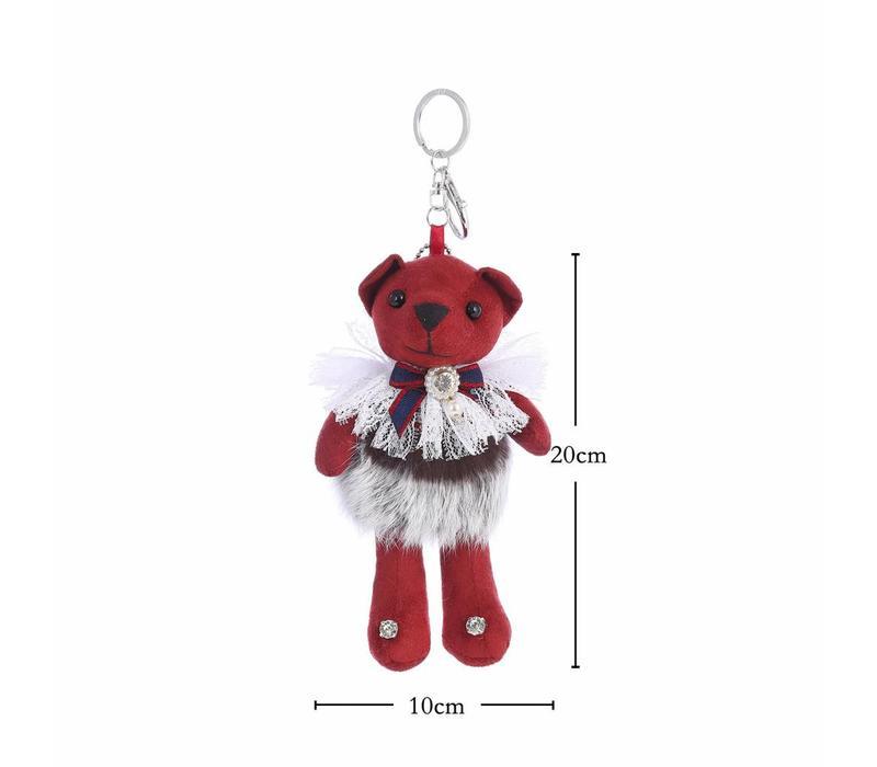 B4 Red Bear keyring