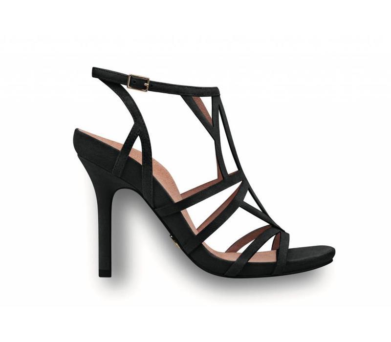 Tamaris 28351 Black Strappy Sandal