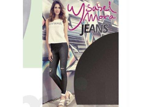 Ysabel Mora Ysabel Mora 20213 Negro Ripped Leggings