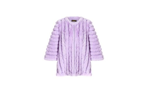 Jay Ley FMSUCT465A-05 Lilac Faux Fur Jacket