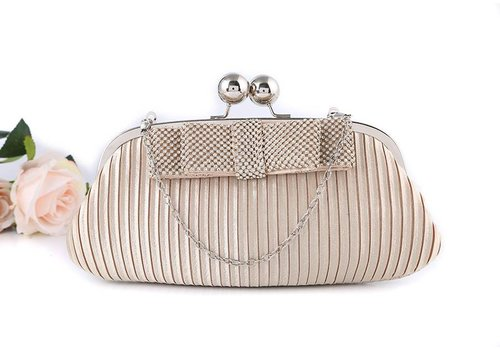 Peach Accessories 15887 Gold Clutch