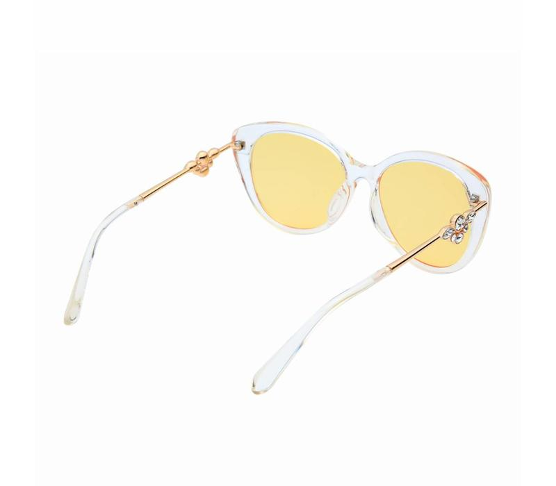 1243 Clear Lemon Sunglasses