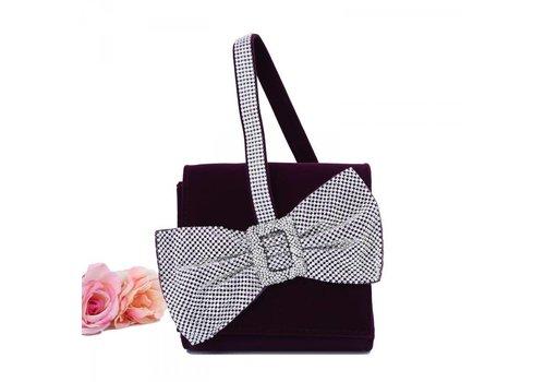 Peach Accessories 202334 Purple Velvet Bag