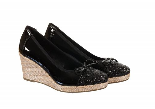 Milly & Co. 322709 Black Patent Wedge