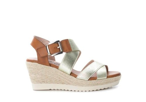 Refresh S/S REFRESH 63272 Gold Elastic Sandals