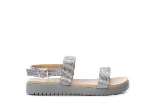 Refresh S/S REFRESH 63481 Grey Metallic Sandals