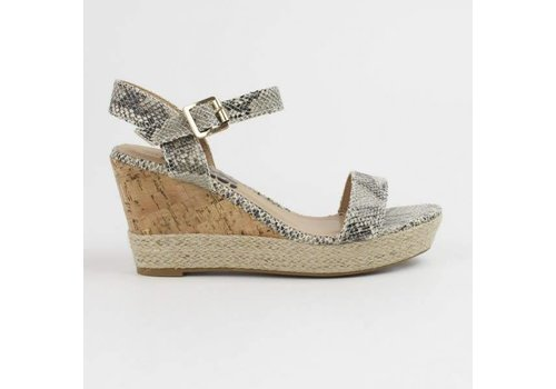 Refresh S/S REFRESH 63512 Black/Grey Wedge