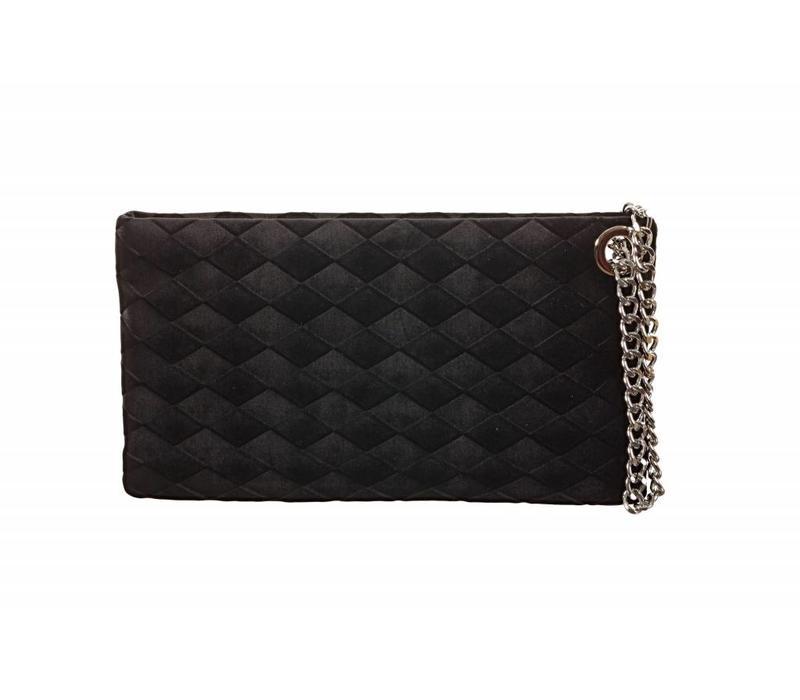 Le Babe Diamond Nero Zip Top Bag