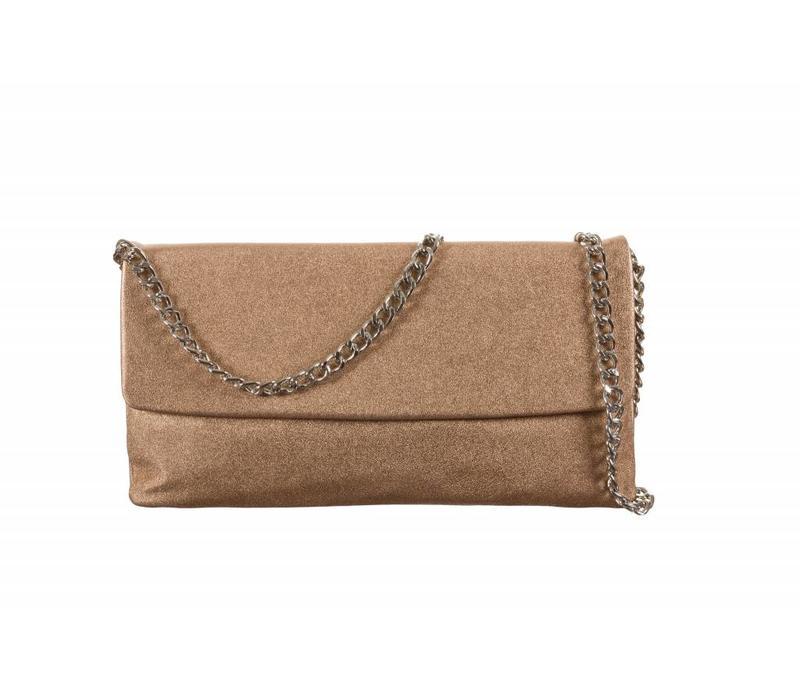 Le Babe Saffron Skin flapover Bag