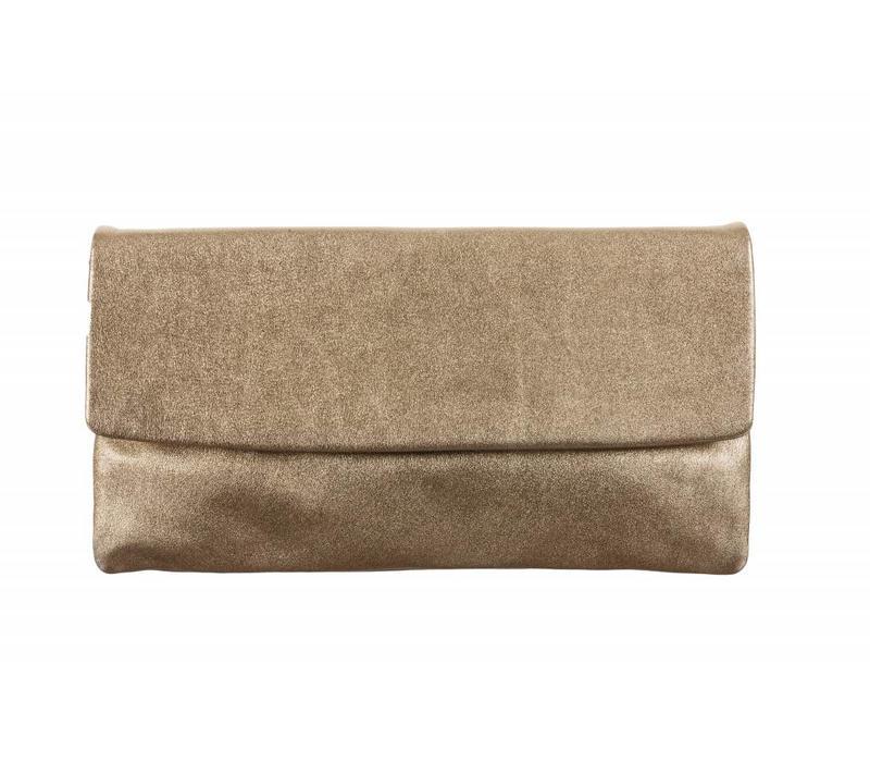 Le Babe Saffron Sabbia flapover Bag