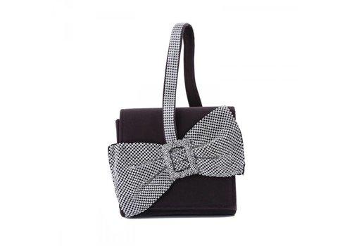 Peach Accessories 202334 Grey Velvet Bag