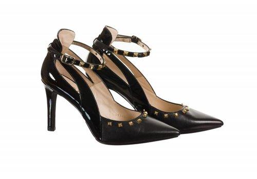 Lodi Lodi RAIMON-TP Black Studded Shoe