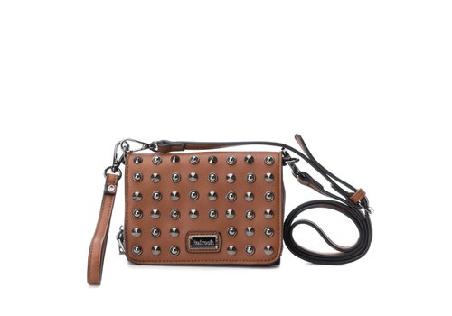 REFRESH A/W Refresh 83159 Camel Studded Bag