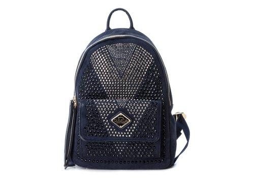 Carmela Carmela 86036 Navy Suede Backpack