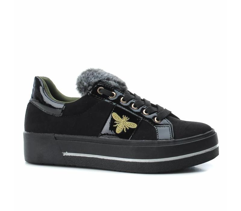 BASS3D 41577 Black Bee Sneaker