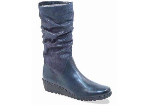 Caprice Boots Caprice 25407 Navy 3/4 Boot