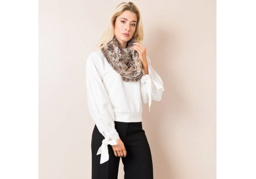 Pia Rossini Pia Rossini BERINO SNOOD Brown/Cream