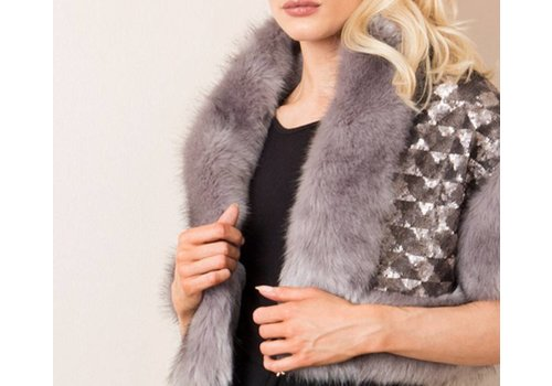 Pia Rossini Pia Rossini CORINE WRAP Grey