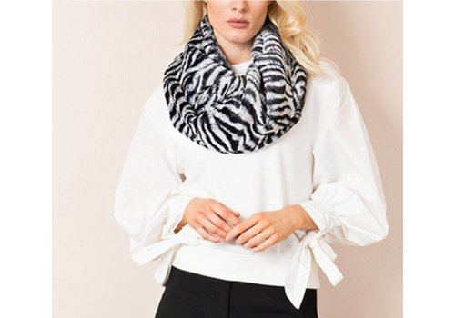 Pia Rossini Pia Rossini JACKSON SNOOD Black/Ivory