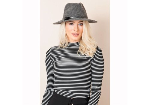 Pia Rossini Pia Rossini CATHERINE HAT Charcoal