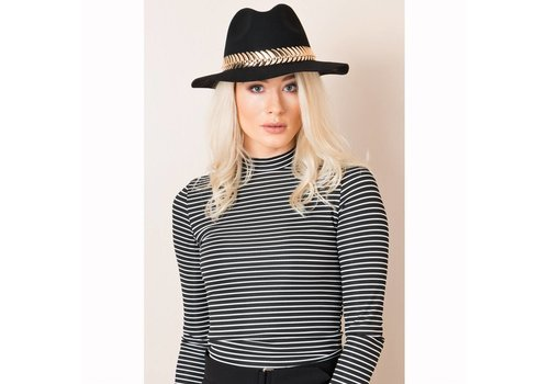 Pia Rossini Pia Rossini CAMILLA HAT Black