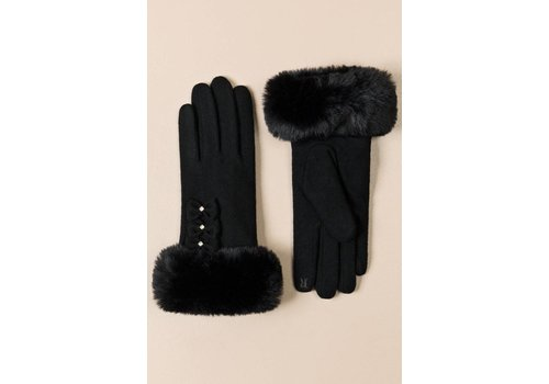 Pia Rossini Pia Rossini LEAH GLOVE Black