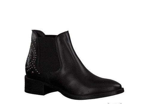 Tamaris Tamaris 25346 Black Chelsea Boots with studs