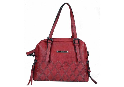 Liberty by Gionni Gionni REED Dark Red Shoulder Bag