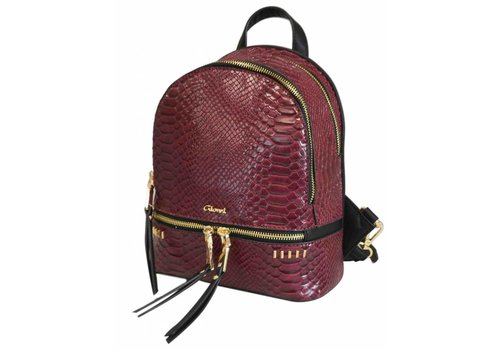 Liberty by Gionni Gionni JADE Berry Reptile Backpack