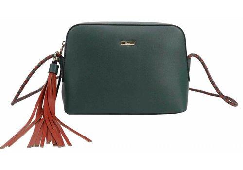 Liberty by Gionni Gionni ROSEMARIN Green Braided Strap Bag