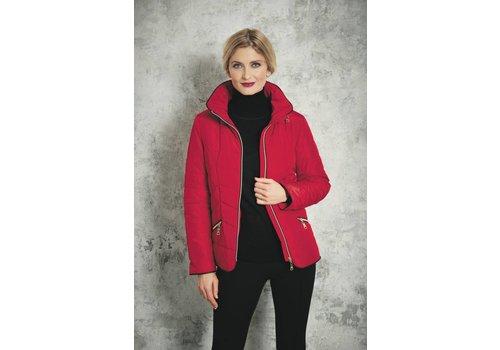 Junge Junge 0218-2266-66 Red Quilt Jacket