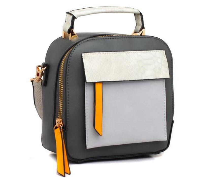 BESSIE London BL3396 Grey Bag