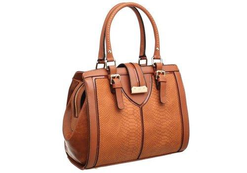 BESSIE London BESSIE London BW3475 Tan Bag