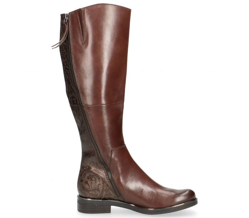 Caprice 25516 Dk Brown barocco Boot
