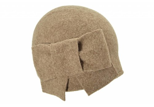 Seeberger Seeberger 011057/86 Taupe Wool Hat