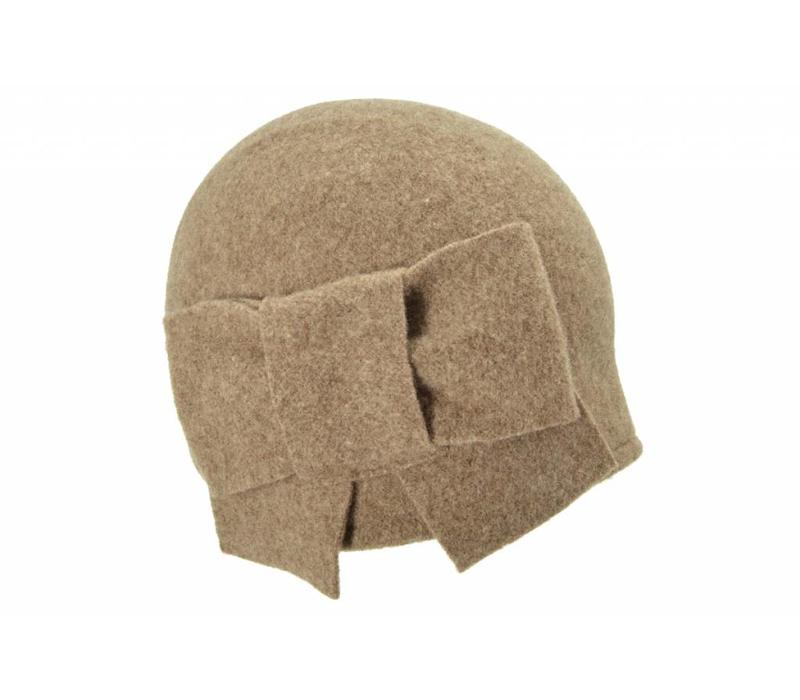 Seeberger 011057/86 Taupe Wool Hat