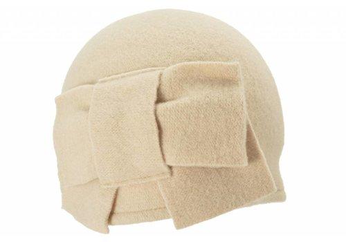 Seeberger Seeberger 011057/93 Beige Wool Hat