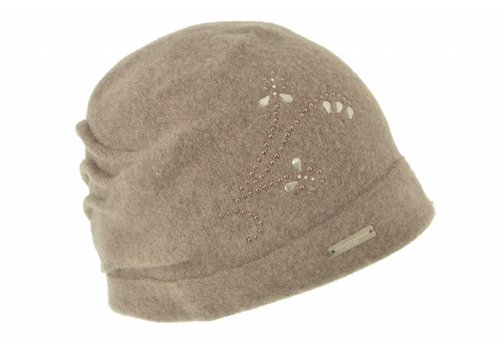 Seeberger Seeberger 017549/94 Sand Wool Hat